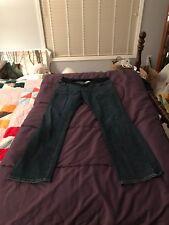 Liz Lange Maternity Jeans For Target 12 Darker Wash Long Inseam/Tall Boot Cut$⤵️