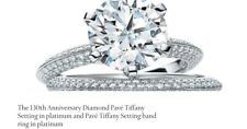 diamond engagement ring tiffany and co. platinum