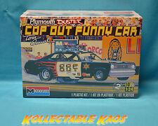 1:24 Monogram - Tom Daniel Plymouth Duster Cop Out Plastic Model Kit(85-4093)