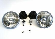 "Hella 7"" Halogen Headlamps Toyota Prado import JDM Round Headlights"