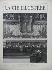 LA VIE ILLUSTREE 1899 N 15 PRESIDENTS A LA COUR DE CASSATION