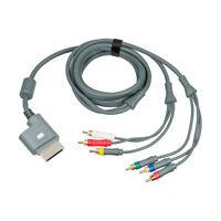 100% Genuine Original Microsoft Xbox 360 Component AV Video Cable Lead 2.5m