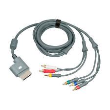100% Genuino Original Microsoft Xbox 360 Cable de video componente Av plomo 2.5 M