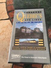 Pentrex VHS Railroad Video Eastern Quebec's Ore Lines Volume 2