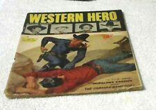 Rare Old Original Comic Book Golden Age Western Hero Vol14 # 82 1949 10 Cent 3.5
