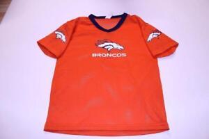 Youth Denver Broncos M Jersey (Orange) Franklin Jersey