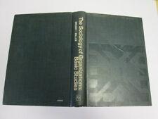 Good - [( The Sociology of Organizations: Basic Studies[ THE SOCIOLOGY OF ORGANI