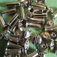 Hülsenmuttern M4x27 Stahl vernickelt Verbindungshülsen 100 Stück NEU