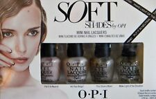 O.P.I Shades Of OPI 4 Pack Mini Nail Lacquers 3.75ml Each New In Box Neutral