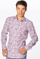 Van Laack - Herren Hemd Tivara2-PSF mehrfarbig langarm Slim Fit Neu: 119 €