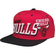 Mitchell & Ness Homme Chicago Bulls 2 Ton Arch Logo Snapback Cap Rouge (Taille unique)
