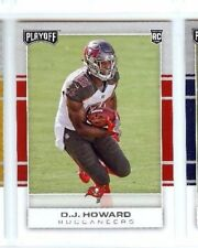 O.J. HOWARD 2017 PANINI PLAYOFF ROOKIE RC #221 TAMPS BAY BUCCANEERS