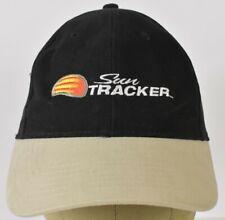 Sun Tracker bass boat Black embroidered Baseball hat cap adjustable