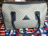 Liz Claiborne Purse/handbag blue and gray with shoulder strap