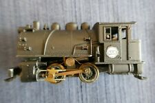 HO Mantua steam locomotive #98 switcher 0-4-0: cast shell/brass drive train-runs