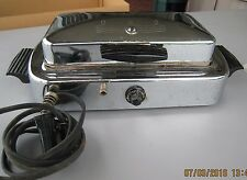 DOMINION WAFFLE AND TOASTER MAKER - ANTIQUE