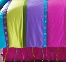 Seventeen Beaded Bedskirt Queen Size Pink