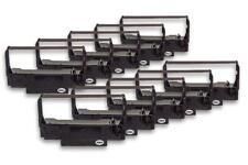 10x Cinta de Impresora Negro Nylon para Samsung SRP 270, SRP 280