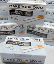 500 Make Your Own Cigarette Filter Tubes King Size by Imperial Tobacco