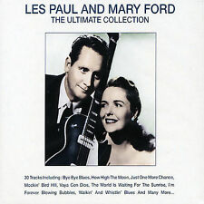 Les Paul and Mary Ford - The Ultimate Collection 30 Songs Bye Bye Blues NEW CD