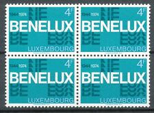 Luxemburg  891 postfris blok van 4