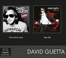 DAVID GUETTA - ONE MORE LOVE/POP LIFE (NEW CD)