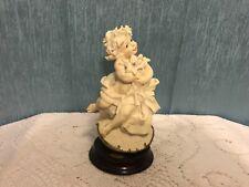 Rare Giuseppe Armani Virgo Figurine Zodiac Collection Florence Sculpture d Arte