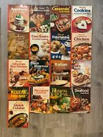 Vtg Lot of 20 Sunset Magazines Books Cooking Recipes Cookies Appetizers DIY