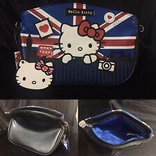 Used Hello Kitty Union Jack Handbag