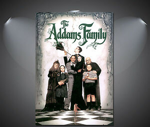 The Adams Family Vintage Movie Poster - A1, A2, A3, A4 Sizes Available