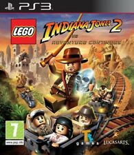 LEGO INDIANA JONES 2 THE ADVENTURE CONTINUES PS3 NEW
