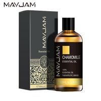 100ml Chamomile Essential Oils Aromatherapy 100% Pure Oil Aroma Diffuser Burner