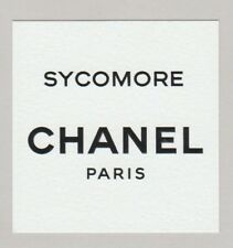 Carte  publicitaire - advertising card  - Sycomore de Chanel