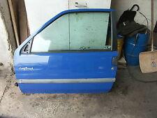 Peugeot 106 Fahrertür links 2.türig EZ.2000 Farbe Blau POGJ komplett