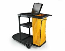 Commercial Housekeeping cart Janitorial cart with cover And Vinyl Bag