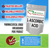SIMPLY HEALTHY L-ASCORBIC ACID 1kg PURE VITAMIN C BEST AVAILABLE QUALITY