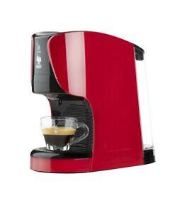 BIALETTI OPERA MACCHINA CAFFE' ESPRESSO MONOSYSTEM SOLO CAPSULE 1450W ROSSA