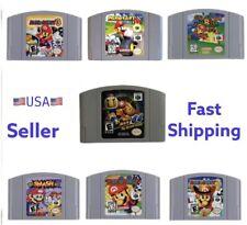 Mario Party 1 2 3 (Nintendo 64) Mario Kart Smash Bros Mario Fast Ship From USA