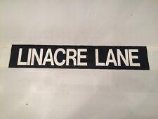"""Liverpool Destination Bus Blind Jan 1988 31""""- Linacre Lane"""