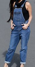 Neues AngebotEX m&s Ladies Damen Denim Latzhose Jeans Relaxed Slim Bnwt