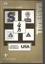 Baseball Cub Scout Sports, Boy Scouts of Ameri