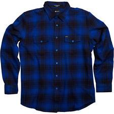 MATIX Fast Eddie Flannel Shirt (L) Blue