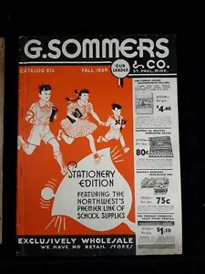 G. Sommers & Co, Catalog 515, Fall 1939
