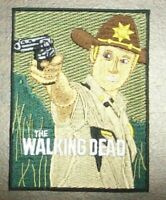 The Walking Dead Rick Embroidered Patch new