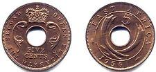 AFRIQUE DE l' EST . 5 CENTS . 1956 . FDC
