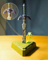 The Legend of Zelda: Breath of the Wild Link Master Sword Figure Toy New No Box