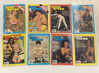 Vintage Iron Horse Magazine Lot Of 8 1990 Sequential #87-94