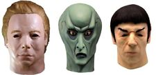 Star Trek Captain Kirk, Mr. Spock, & Balok Alien Latex SET OF 3 Masks Pre-Order