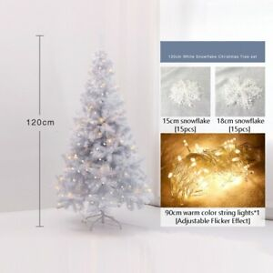 180cm white artificial Christmas tree for Christmas decorating the house New.