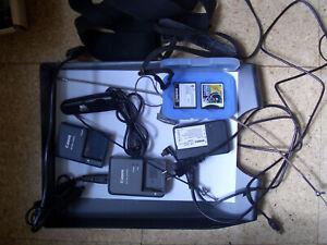 Canon, Aufladegeräte, 2 verschiedene,Ladegerät,Casio mit Baterie, Kabel Auslöser